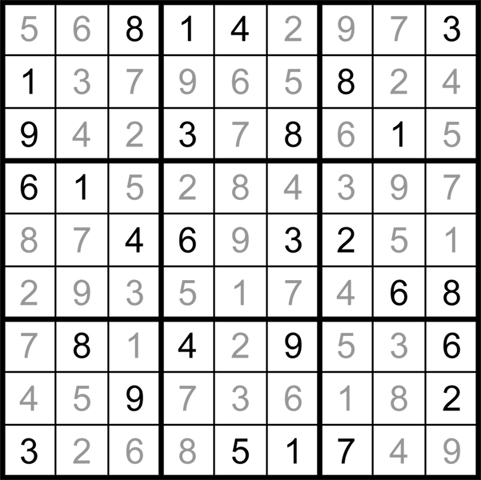 Sudoku Aug05 20 Answers