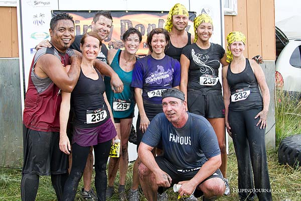 Fun in the mud at the Dirty Donkey Mud Run
