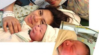 Lara, Marco now proud parents of a baby boy