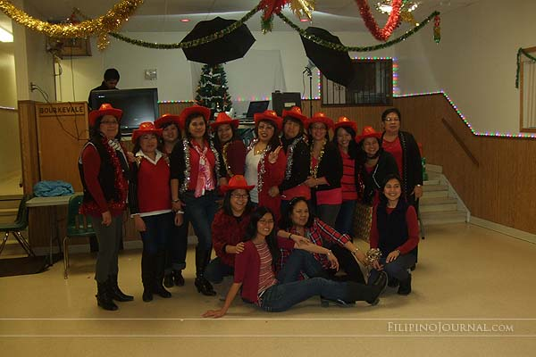 Winnipeg Happy Campers, or WHC, held their Annual Christmas Party on Saturday, December 29, 2012