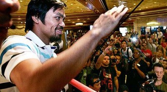 Pacquiao's House colleagues want next fight in Manila