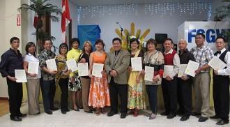 Councillor Pagtakhan inducts Filipino Senior Group of Winnipeg