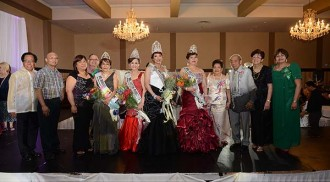 Precy Merluza crowned as Mrs. Philippines-Manitoba 2014