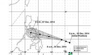 PAGASA places 10 provinces under signal no. 1