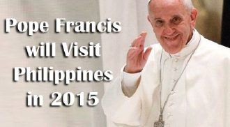 Pope Francis' Philippine Visit Official Itinerary  Released