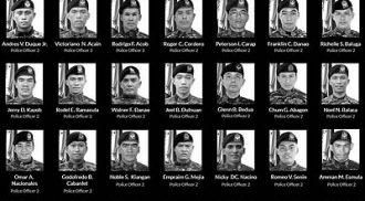 Filipinos worldwide pay tribute to 44 fallen PNP-SAF men