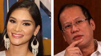 Bb. Pilipinas-U Pia Wurtzbach says she enjoys President Aquino's company