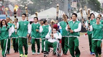 2015 Palaro opens in Tagum City