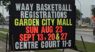 WAAY Basketball Registrations