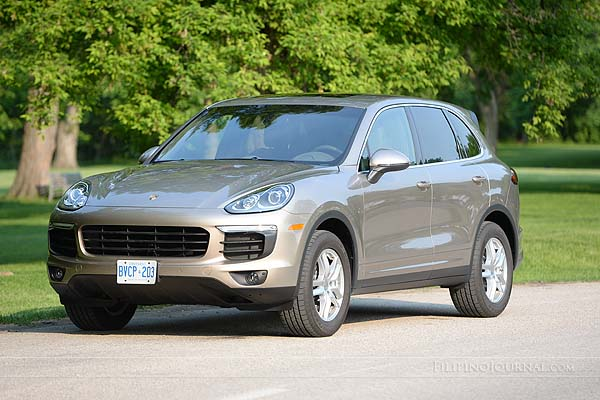2016 Porsche Cayenne – A crossover SUV for families