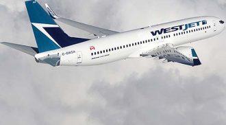 WestJet direct flight Winnipeg to London, England