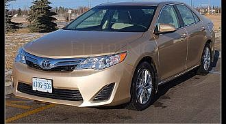 2012 Toyota Camry: Completely Redesigned