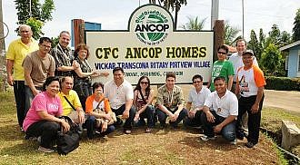 New homes and multipurpose hall blessed during Vickar-ANCOP mission to Camiguin