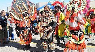 Filipino Celebration on the Streets of Winnipeg