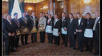 First Filipino-Canadian Grand Master in Canada MW Grand Master Constante (Chibu) Uson Installed, June 4, 2011.