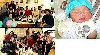 Asher Clark is born