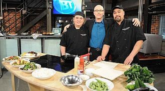 Rice Bowl chefs cooking up traditional Filipino dishes on Breakfast Television