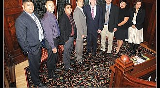 Ambassador Christopher Thornley meets with Manitoba Filipino Business Council