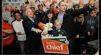 Winnipeg North Votes: Kevin Chief – NDP