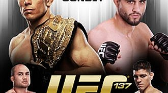 UFC 137: Changes, Changes, Changes