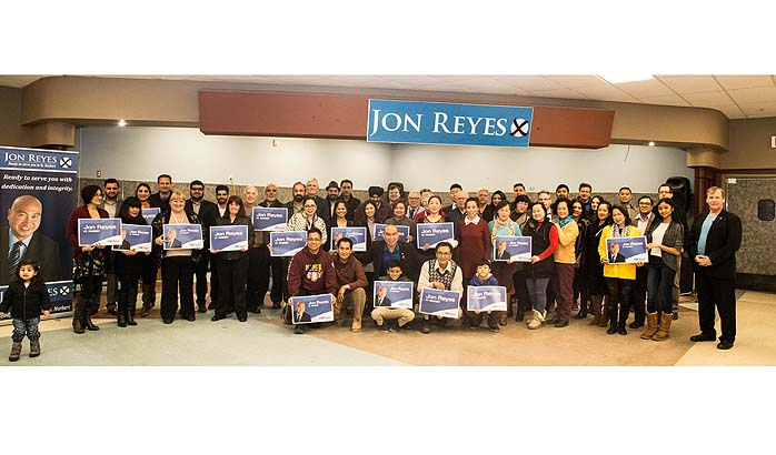 Jon Reyes Officially Opens St. Norbert Campaign Office