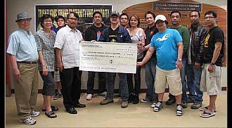 Tau Gamma Phi donates to PCCM