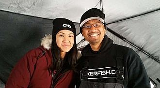 Ice Fishing with reporter Erica Natividad