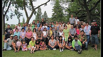 Surprise 60th Birthday Party for Lita Mas at Assiniboine Park, August 7, 2010