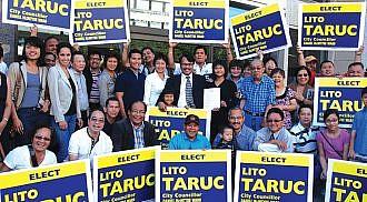 Lito Taruc to run for City Councillor