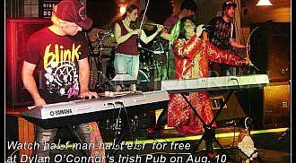 Local bands Sacrament and haLf man haLf eLf rock Dylan O'Connor's