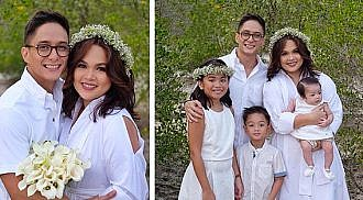 Ryan Agoncillo, Judy Ann Santos renew wedding vows