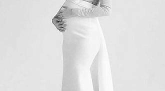Chynna Ortaleza shares maternity photo shoot