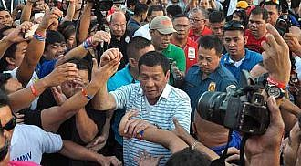 Duterte starts term on a high note