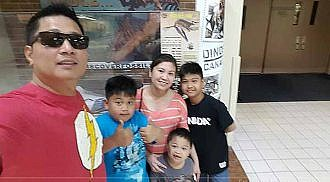 Out & About In Manitoba: Torillos family explores the past at the Canadian Fossil Museum
