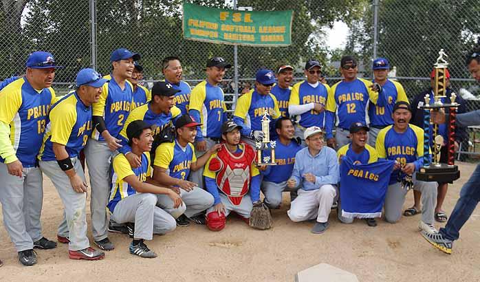 PBA LGC capture 2016 Filipino Softball Leauge Championship
