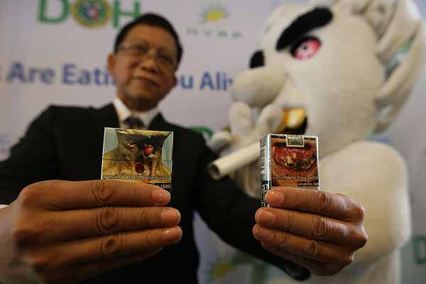 DOH imposes graphic health warnings on cigarettes