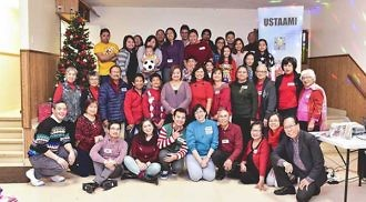 When UST alumni celebrate Christmas there is an outburst of Thomasian spirit!