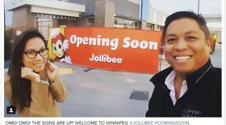 Jollibee Canada opens first Canadian restaurant in Winnipeg on December 15