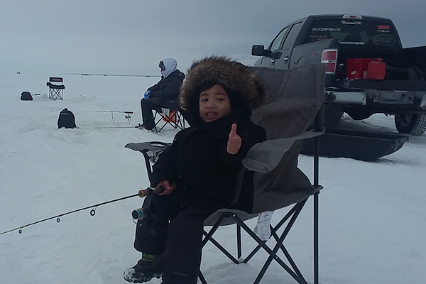 Getting kids hooked on fishing – A tip for success