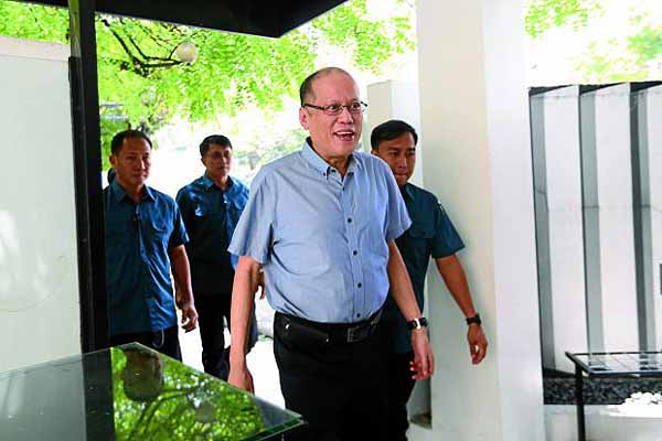 Aquino urges LP members to speak up