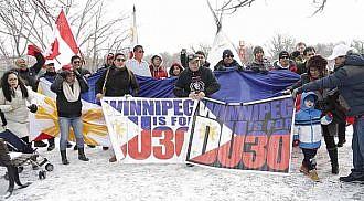 "Winnipeg Duterte ""Protect PRRD Rally"""