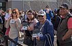 Shoppers flock to Outlet Collection grand opening