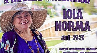 Lola Norma 83rd Birthday Celebration