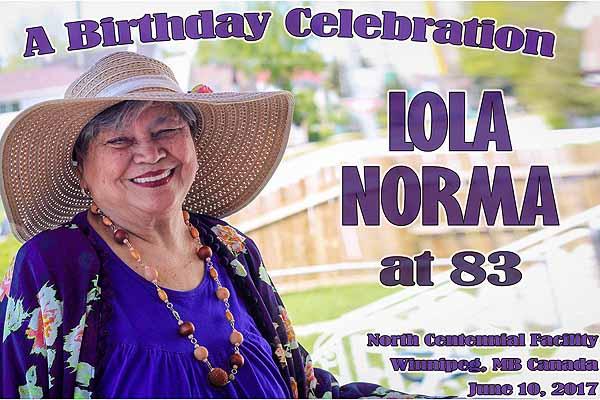 Lola Norma 83rd Birthday Celebration
