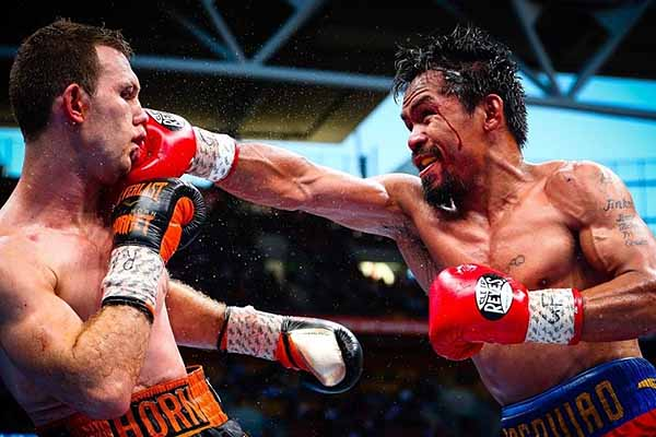 Horn beats Pacquiao for WBO welterweight crown