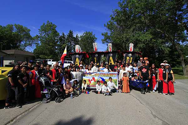 Ati-Atihan in the Altona Sunflower Festival & Parade