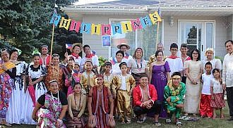 Winkler Harvest Festival 2017, representing Philippines from Luzon Visayas and Mindanao