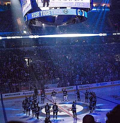 Drop The Puck – Jets 2017-18 Home Opener vs Toronto Maple Leafs