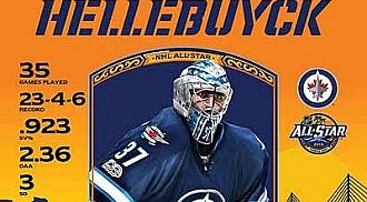 Wheeler & Hellebuyck heading to NHL All-Star Game