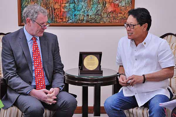 Head of United Kingdom-Based Recruitment Team pays Courtesy Call on Secretary Bello